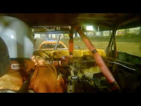 Perris Auto Speedway Demo Cross Main Event in car camera X17  8-28-21 - dirt track racing video image