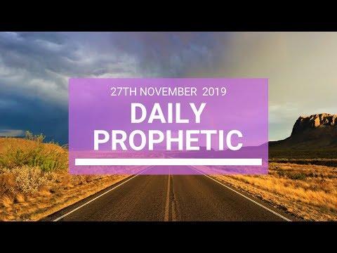 Daily Prophetic 27 November Word 4