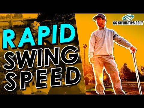 Rapid Swing Speed Built By Body Rotation