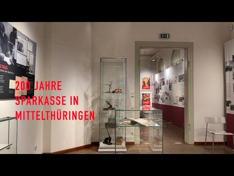 Ausstellung 200 Jahre Sparkasse in Mittelthüringen