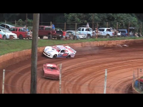 Modified Street at Winder Barrow Speedway August 21st 2021 - dirt track racing video image