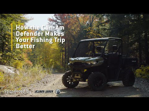 How The Can-Am Defender Makes Your Fishing Trip Better - Sponsored