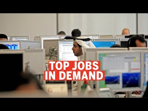 What are the top jobs in demand in the UAE?