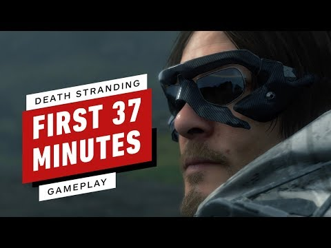 The First 37 Minutes of Death Stranding Gameplay (Captured in 4K) - UCKy1dAqELo0zrOtPkf0eTMw