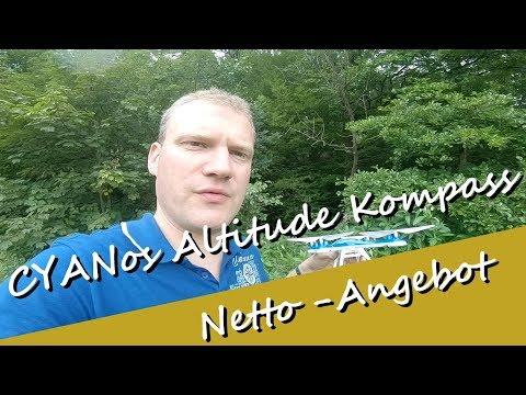 Netto Discounter - CYANos Altitude Kompass Drohne mit Kamera von Jamara - Review - tolle Drohne - UCNWVhopT5VjgRdDspxW2IYQ
