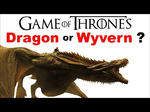 Are Game of Thrones Dragons REALLY Wyverns ❓ What is the difference between a DRAGON and a WYVERN ❓ - default