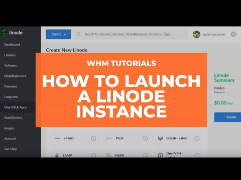WHM Tutorials - How to Launch a Linode Instance