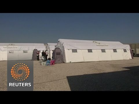 New Mosul field hospital set up in Bartella closer to front lines