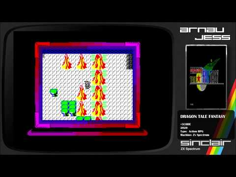 DRAGON TALE FANTASY Zx Spectrum by +3CODE