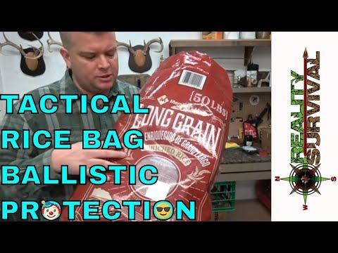 Tactical Rice Bag Ballistic Protection