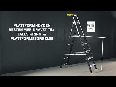 Wibe Ladders - Bra Arbeidsmiljøvalg