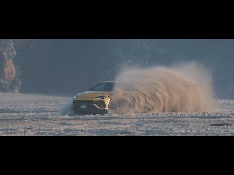 Lamborghini Urus: TERRA mode to SABBIA mode