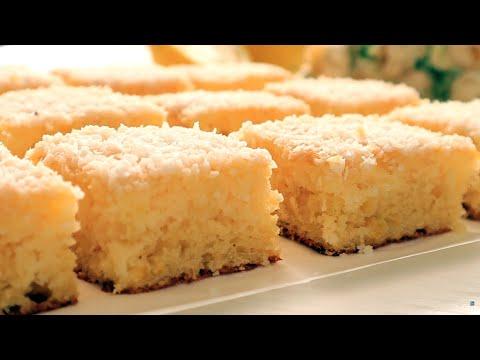Лимонный Взрывной Вкус!Из Простых Продуктов/Нежное тающее на губах  Пирожное!