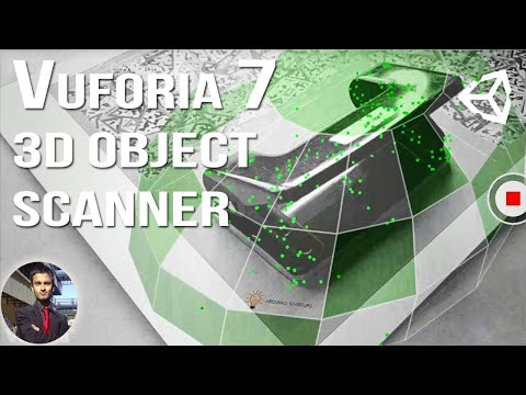 Vuforia 7 - 3D Object Scanner Tutorial in Unity 2017