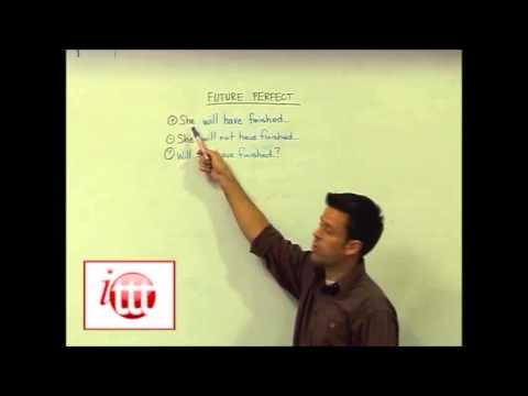 English Grammar - Future Perfect - Usage - Teach English Abroad