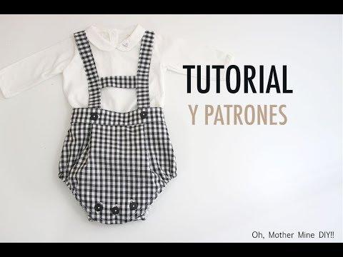 Costura: Peto ranita para bebés (patrones gratis)