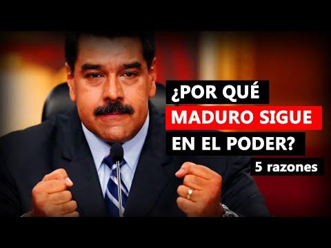 Las 5 razones por las que Maduro sigue en el poder