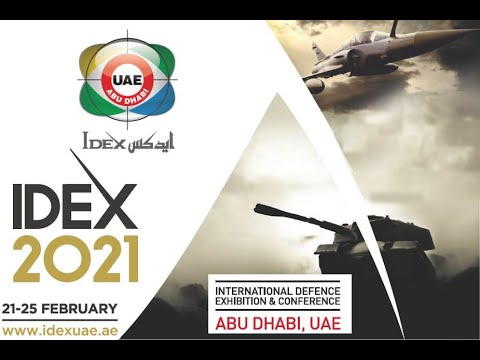 IDEX 2021 teaser defense exhibition Abu Dhabi UAE Army Recognition Official Web TV Television News