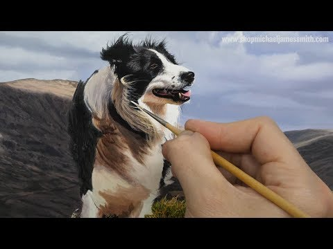 Painting a Dog | Time Lapse | Episode 151