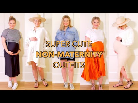 SUPER CUTE MATERNITY OUTFITS 🤰🏼