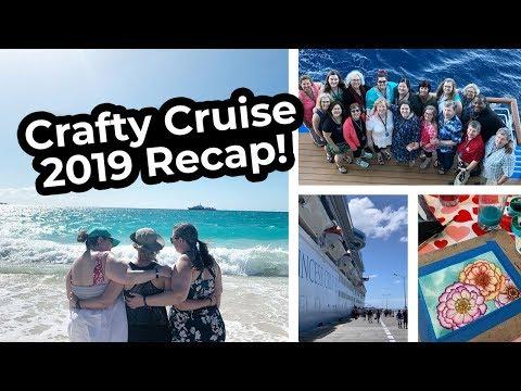 CRAFTY CRUISE 2019 Recap - Eastern Caribbean on Regal Princess!