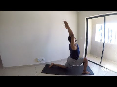22 min yoga flow and glow with Maylen from Virgin Active | Vitality at Home