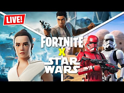FORTNITE *STAR WARS* LIVE EVENT!! (Fortnite Battle Royale) - UC2wKfjlioOCLP4xQMOWNcgg