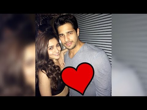 Sidhartha Malhotra Confirms His LOVE For Alia Bhatt Through A Video