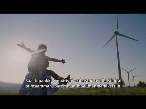 Tahdon asialla - Säästöpankki Ympäristö -rahasto 30s | Säästöpankki Sparbanken