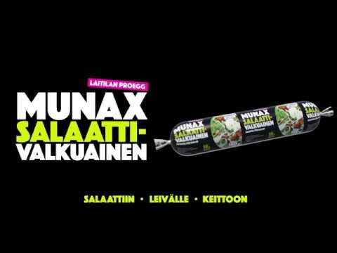 Munax Salaattivalkuainen – nyt kylmähyllystä!