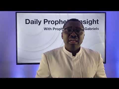 Prophetic Insight - December 22,2020