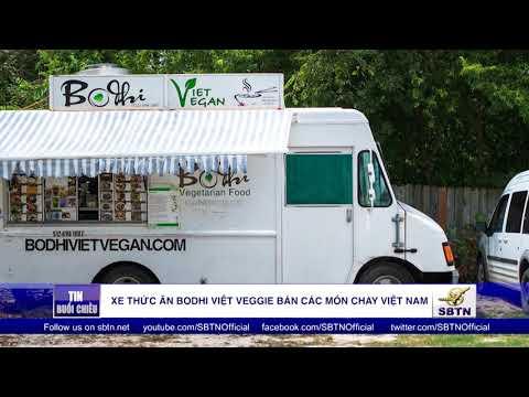 Xe thức ăn Bodhi Việt Veggie bán các món chay Việt Nam