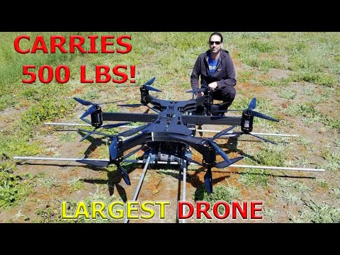 Top 10 BIGGEST DRONES you can fly - UC0xoi3c4bDNYS7m-RDUlAQA