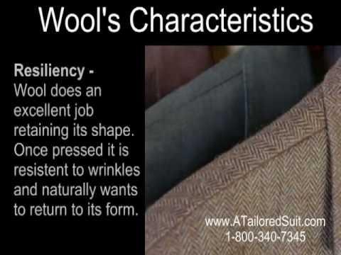 Understanding Men's Suits - Wool Suit Fabric - Presented by ATailoredSuit.com
