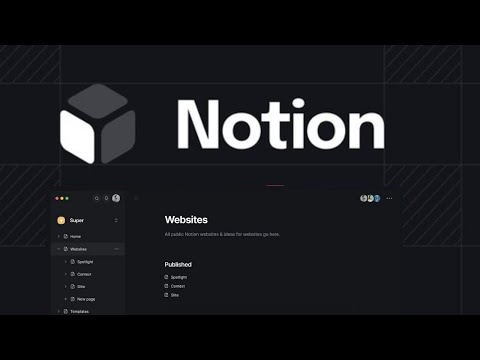 NOTION LOGO & LOOK RE-IMAGINED