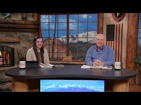 Charis Daily Live Bible Study: Simple Faith - Total Trust - Wendell Parr - April 1, 2021