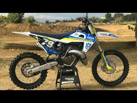 Project Pro Circuit Husqvarna TC125 2 Stroke - Motocross Action Magazine