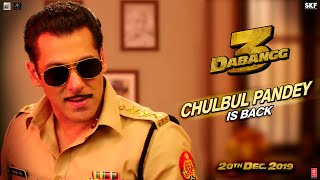Video Trailer Dabangg 3