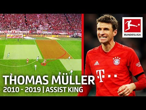 Thomas Müller Analysis - What Makes Him Bayern's and the Past Decade's Assist King