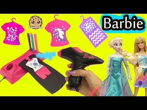 Airbrush Designer Maker - Make Custom Doll Clothing for Barbie + Disney Frozen Queen Elsa - UCelMeixAOTs2OQAAi9wU8-g