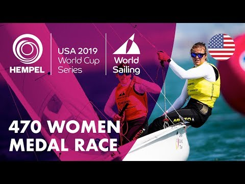 470 Women Medal Race | Hempel World Cup Series: Miami, USA