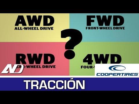 """¿Qué diferencia hay entre 4x4, AWD, RWD y FWD"""" Tracción en Cooper Consejos"""
