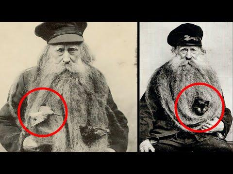 Дет всю жизнь прожил с длиннющей бородой, в которой также жил кот