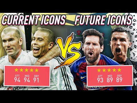 Future Icons VS Icons - FIFA 20 Experiment!