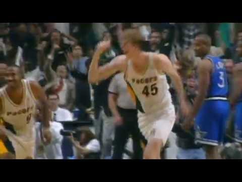Memorial Day NBA Vault: 1995 Magic vs Pacers- Rik Smits Hits The Game Winner