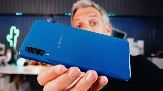 Vidéo-Test : Samsung Galaxy A50 (test) - Vaut-il ses 349? ?