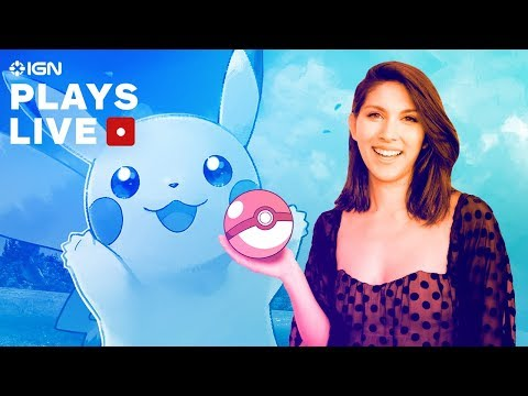 Pokemon: Let's Go, Pikachu! With Sydnee Goodman - IGN Plays Live - UCKy1dAqELo0zrOtPkf0eTMw