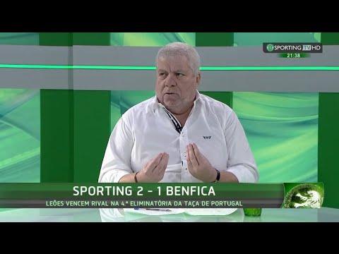 Análise ao Sporting 2 - benfica 1 (Taça Portugal) com Carlos Dolbeth - Sporting TV (22/11/2015)