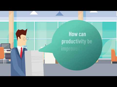 How can productivity be improved in the workplace?