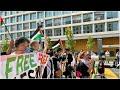 مظاهرة قرب البيت الأبيض احتجاجا على اتفاق التطبيع بين الإمارات والبحرين وإسرائيل…  - 19:57-2020 / 9 / 16